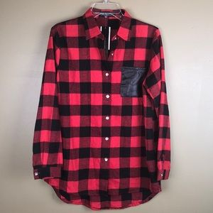 Zanzea collection Buffalo check flannel size XL